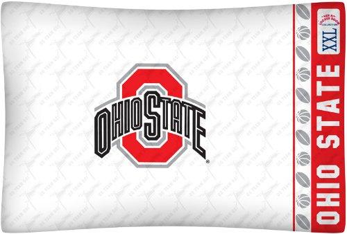 Ohio State Buckeyes Bedding (NCAA Ohio State Buckeyes Micro Fiber Pillow Case Logo)