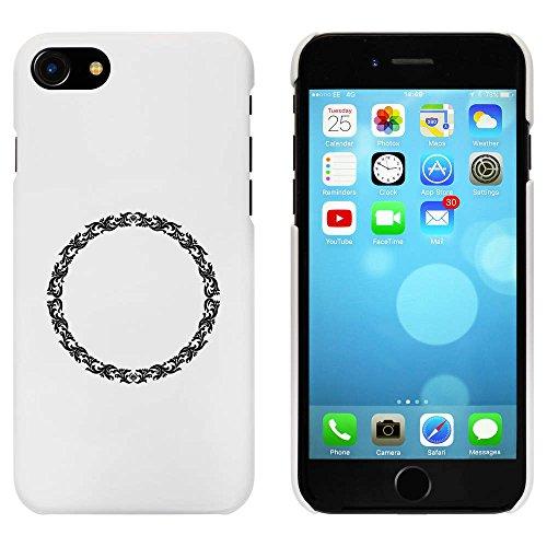 Weiß 'Kreisförmig Blumen' Hülle für iPhone 7 (MC00065732)
