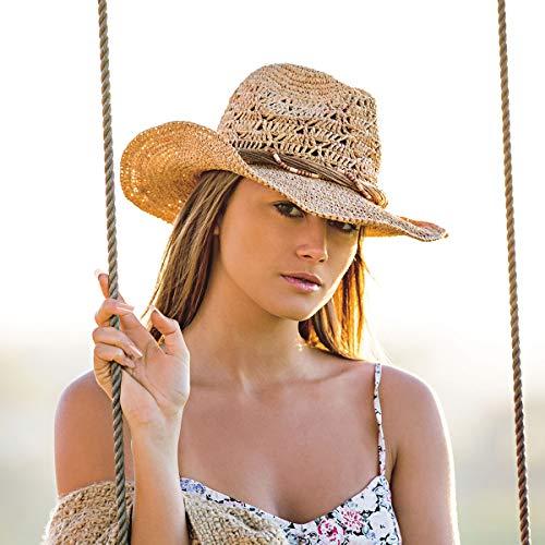 4f758b83b55 Wallaroo Hat Company Women s Tina Cowboy Hat – Raffia