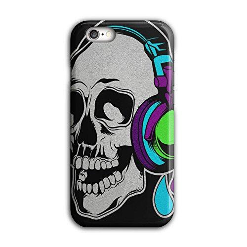 Headphone Music Art Skull Concert Art iPhone 6 / 6S Case | Wellcoda