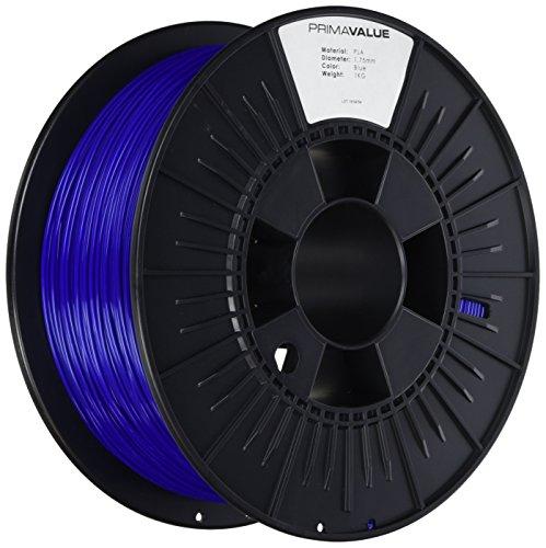 PrimaValue™ PLA Filament für 3D Drucker - 1.75mm - 1 kg Spule - Blau