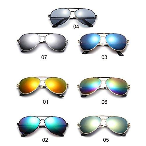 WINWINTOM Manejo Nuevo de Reflexión Unisexo Moda 2018 Protección Playa Mujer Sol de Visión Color Gafas Noche Verano Auto Gafas G Gafas Gafas de Anti RA4Xq4vw