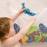 Edtoy Bath Toy Organizer Bathtub Toy Bags Baby Toys Mesh Storage Bag with 2 Suction Cups