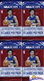 2017/18 Panini Hoops NBA Basketball Collection of Four Factory Sealed Packs with 32 Cards! Loaded with ROOKIES & INSERTS! Look for RC's & Autographs of Lonzo Ball, Jayson Tatum & Many More! WOWZZER!
