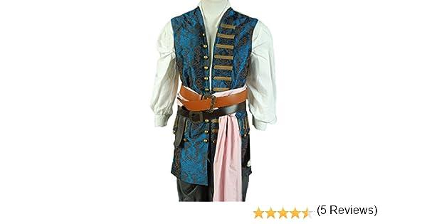 Disfraz con chaqueta de Jack Sparrow de Piratas del Caribe 4, de ...
