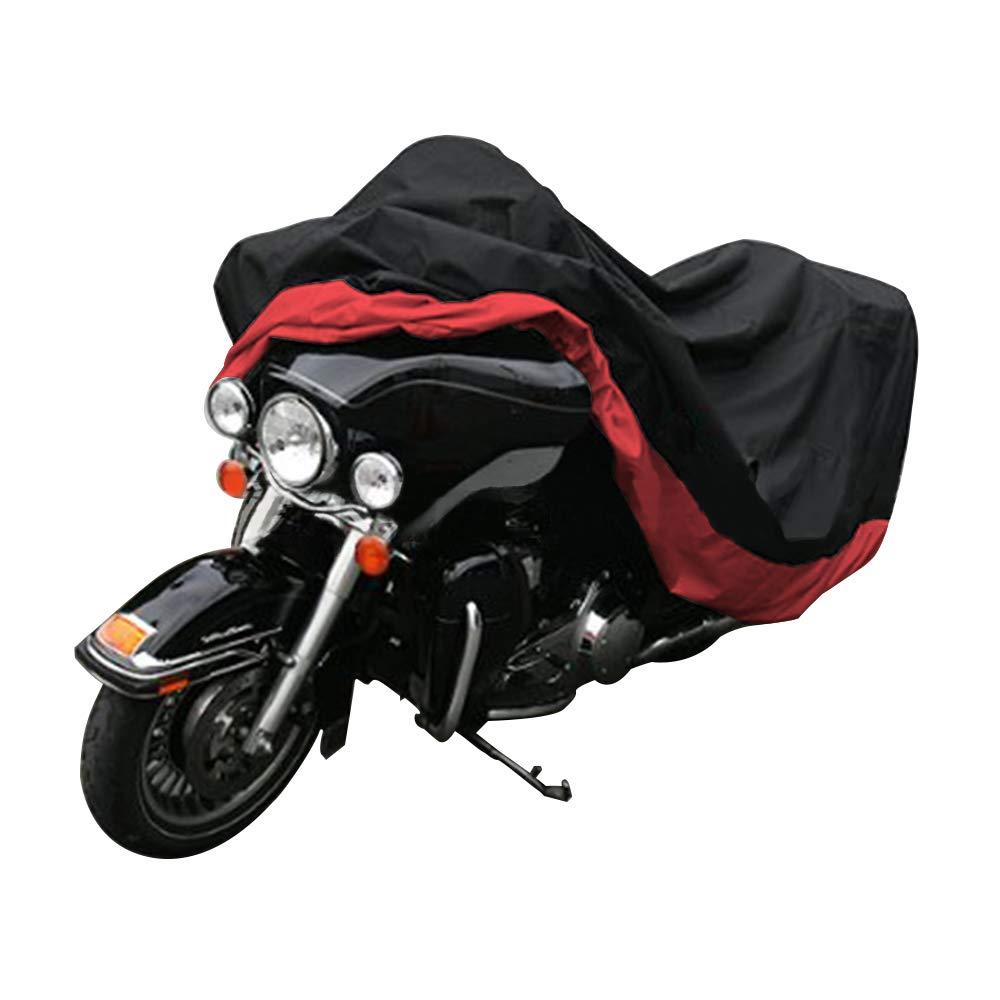 Motorcycle & ATV Silver Motorcycle Cover Waterproof Sunblock ...