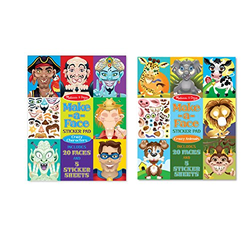 Animal Character Sticker Pack - 2