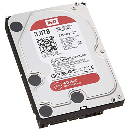 chollos oferta descuentos barato Western Digital Red 3TB SATA 6 GB s Disco Duro Serial ATA III 3000 GB 8 89 cm 3 5 0 6W 4 4W 4 4W