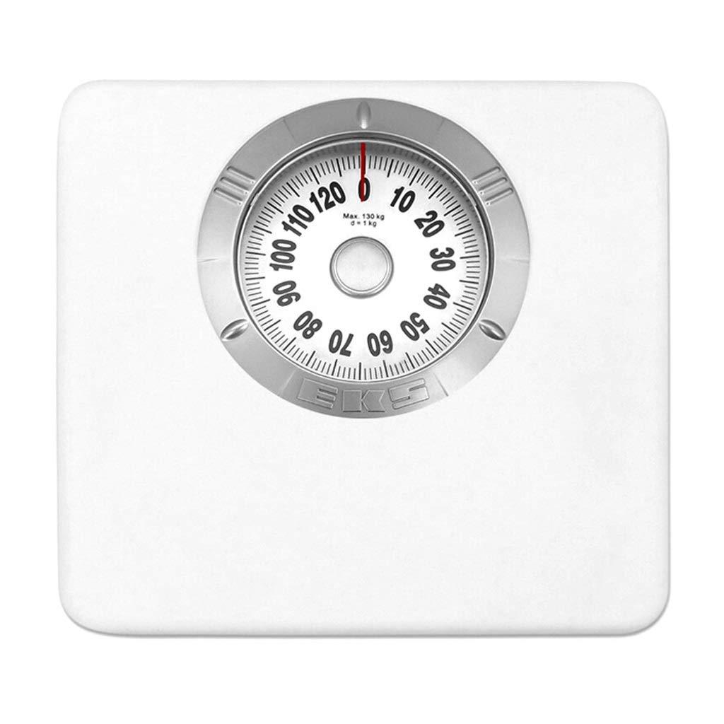 家庭用体重計 - 機械的体重計 -、ヒューマンヘルススケール、バッテリーなし、耐久性 (色 家庭用体重計 白 : 白) B07NKVM937 白, 大人女性の:4d57e2d9 --- lembahbougenville.com
