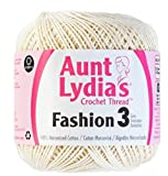 Aunt Lydia's Crochet Thread - Size 3