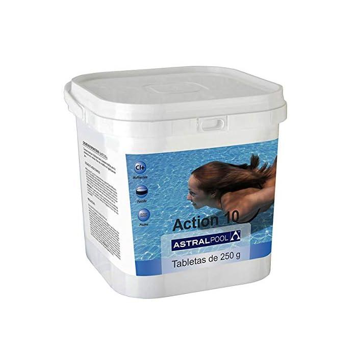 51NvP1t%2BtvL Action 10 AstralPool en Tabletas de 250gr
