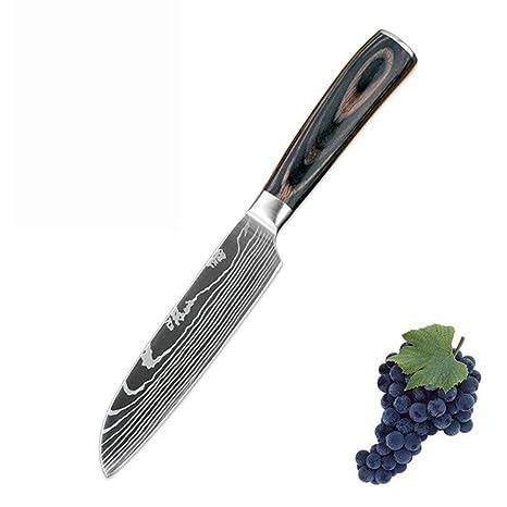 Compra Ybqy Chef Cuchillos 7Cr17 de Alto carbón del Acero ...
