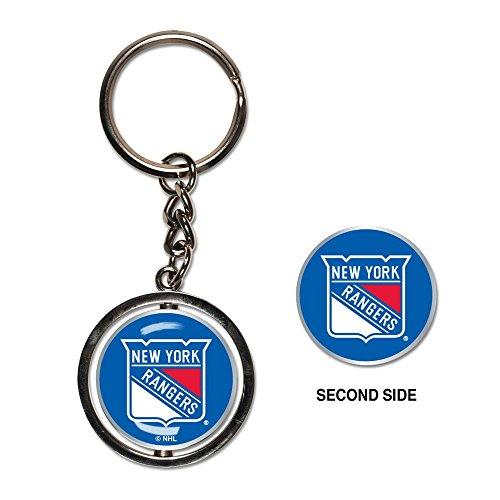 NHL New York Rangers Spinner Key Ring
