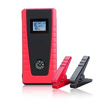 Nueva 2017 móvil de emergencia Jump Starter Power Bank w/ordenador portátil y smartphone Kit de Cargador de viaje + SOS luces LED: Amazon.es: Coche y moto