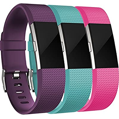 For Fitbit Charge 2 Bands, Humenn Adjustable Replacement Strap for Fitbit Charge 2 (No Tracker)
