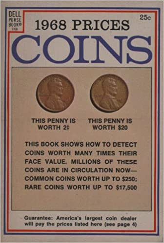 1968 Prices COINS Dell Purse Book Norman Stack Amazon Books