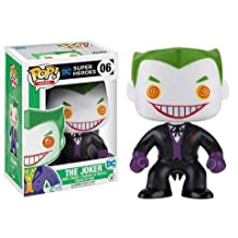 Funko - Figurine DC Heroes - Joker Black Suited Exclu Pop 10cm - 0889698138765