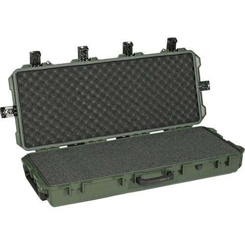 Pelican Storm Long Gun Case with Foam, Green