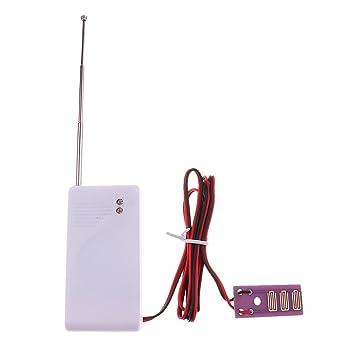 perfk funciona con pilas Detector de fugas de agua Alarma nivel con sonda para almacén garaje Fish Tank: Amazon.es: Bricolaje y herramientas