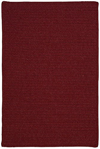 Colonial Mills Contemporary Square Area Rug 4' Sangria Courtyard (Colonial Mills Courtyard Sangria)