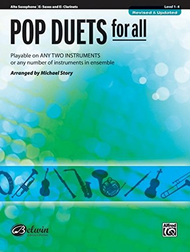 Ensembles Instrumental Pop (Pop Duets for All: E-flat Alto Saxophone, E-flat Clarinet (Instrumental Ensembles for All))