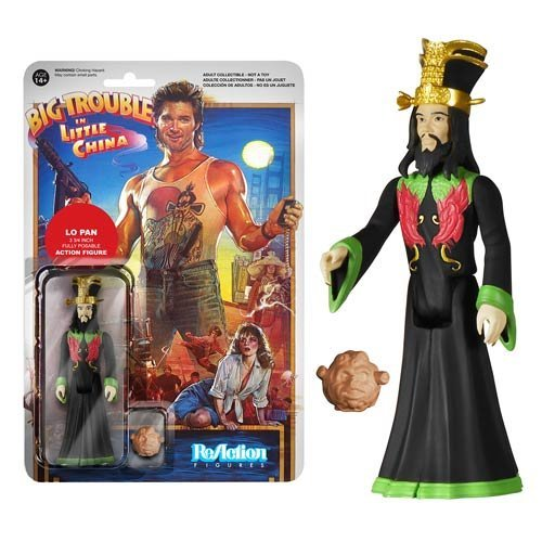 Big Trouble in Little China Lo Pan ReAction 3 3/4-Inch Retro Action Figure by Big Trouble in Little China