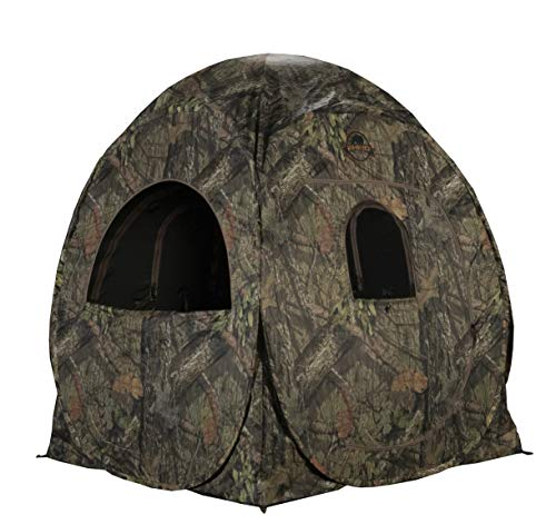 RHINO Blinds R75-MOC 1 Person Hunting Ground Blind, Mossy Oak Breakup Country (Best Ground Blind Chair)