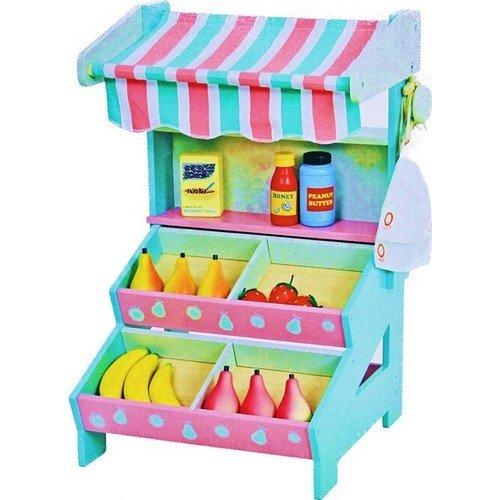 Serra Baby The Neighborwoods Mentari Wooden Mini grocery stores by Serra Baby