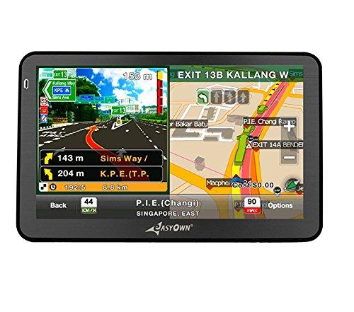 EASYOWN G 7050 7 inch Car GPS Windows CE 6.0 4GB HD Screen Navigation System Navigator