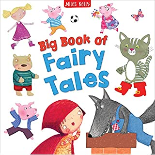 Big Book of Fairy Tales-4 Classic Stories including Goldilocks and the Three Bears, Little Red Riding Hood, Puss in Boots and The Three Little Pigs