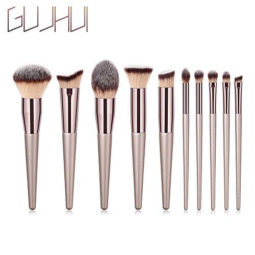 Makeup Brush Set - Sandistore 1PCS Wooden Foundation Cosmetic Eyebrow Eyeshadow Brush Makeup Brush Sets Tools (G)