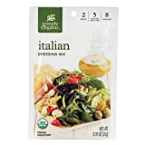 Simply Organic Italian Salad Dressing Mix 12x each .7 Oz
