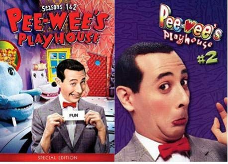 Pee wee Herman: Pee-Wee's Playhouse: The Complete Series Collection Set - Seasons 1,2,3,4 & 5
