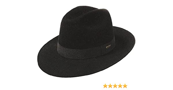 ecdbb0e20d454 Stetson Dexter Fedora hat at Amazon Men s Clothing store