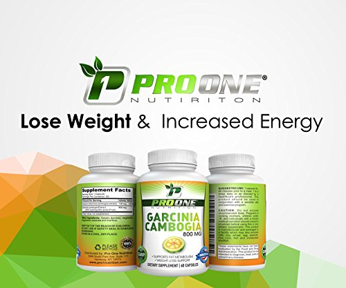 Pure Garcinia Cambogia 800MG by ProOne Nutrition. Add Garcinia to lose weight quickly and fast to diet, Increase Energy, improve Cholesterol, Stabilize Blood Sugar Levels and have a More Positive Mood by Pro One Nutrition (Image #4)