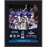 """Chicago Cubs 2016 MLB World Series Champions 10.5"""" x 13"""" Sublimated Plaque - MLB Player Plaques and Collages"""