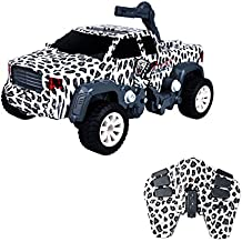 ToyPark RC Car, Electric Remote Control Deformation Monster Car 2 in 1 Toy Hobby Model RC Vehicles Toys for Kids