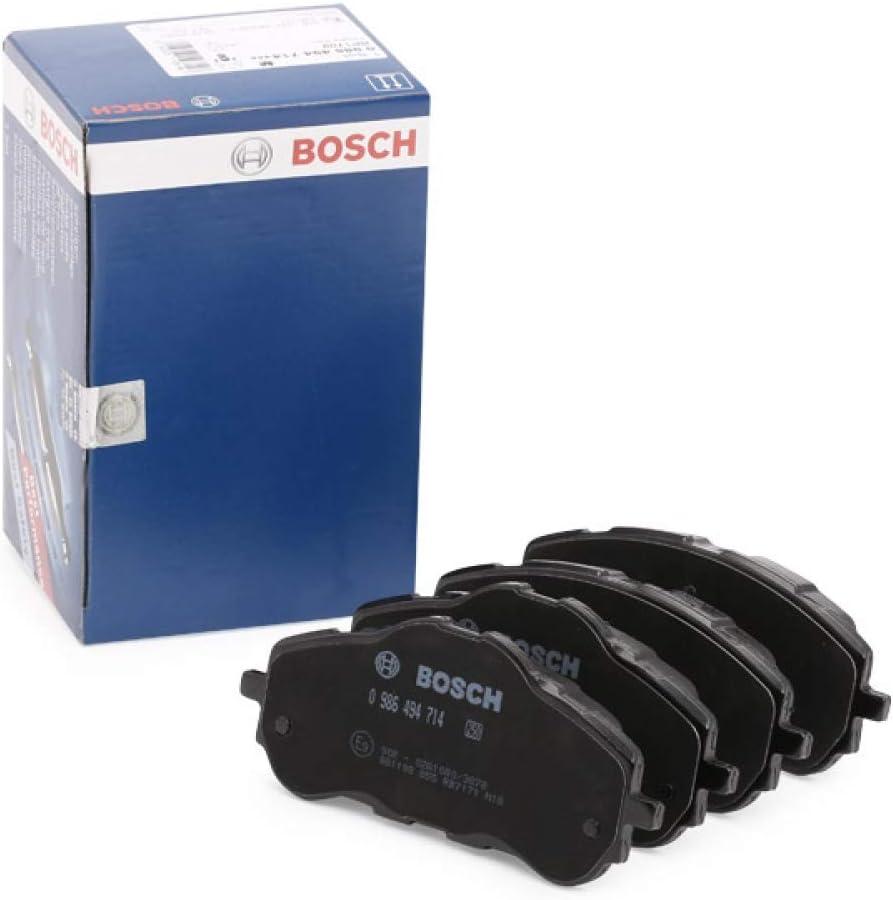 Bosch BP1709 Jeu de 4 Plaquettes de Frein