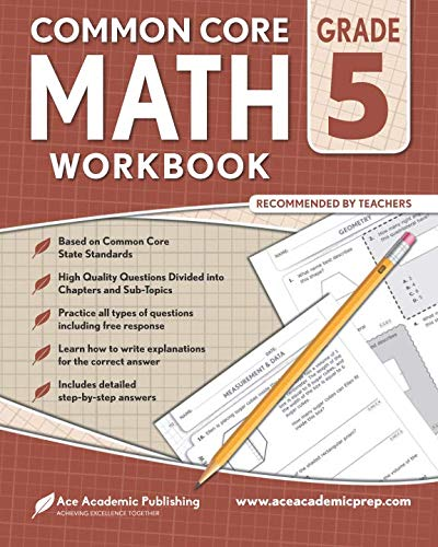 5th grade Math Workbook: CommonCore Math Workbook (Math Common Core Sample Questions Grade 8)