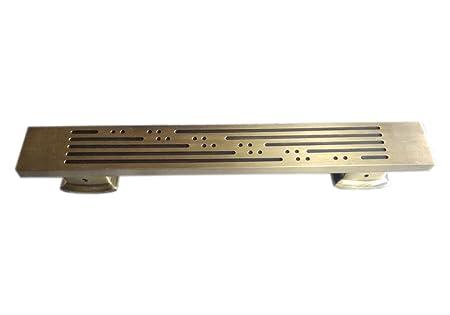 Surya Prabha Aluminium Main Door Handle, Gold (Size: 24