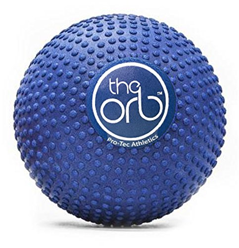Pro-Tec Athletics The Orb Deep Tissue High Density Massage Ball, 5-Inch Diameter, Blue (Foam Density Target High)