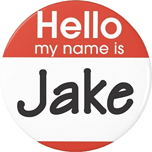 "Halloween Costumes Names (Hello my name is Jake 1.25"" Magnet)"