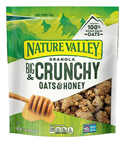 Nature Valley Oats 'N Honey Granola Crunch,