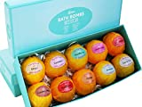 Bath Bombs Gift Set – 10 Unique Scents – Best Gift Set Ideas for Women, Mom, Girls, Teens, Her – Mother's Day – Birthday – Spa Aromatherapy – Shea Butter – Relaxation in a Box