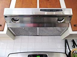 capable non ducted under cabinet stainless