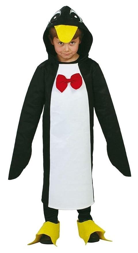 Disfraz de pingüino con pajarita infantil - 7-9 años: Amazon ...