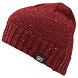 100% Unisex-Adult Niva Beanie (Burgundy,One Size Fits Most)