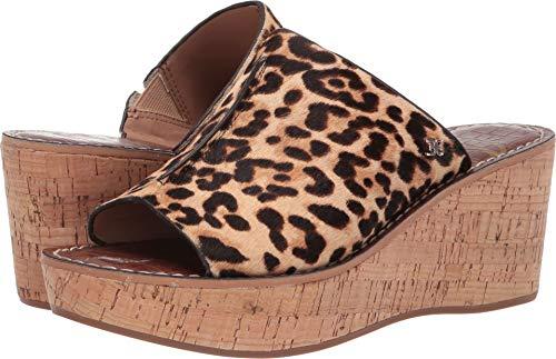 - Sam Edelman Women's Ranger Heeled Sandal, Sand Leopard, 5.5 M US