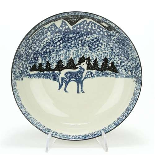 Wolf by Tienshan, Stoneware Dinner Plate