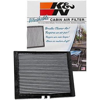 Amazon Com K Amp N Vf2050 Washable Amp Reusable Cabin Air